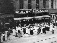 Schwab's on Beale Street in 1914