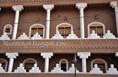 Ushaiger Heritage Village » Blue Abaya
