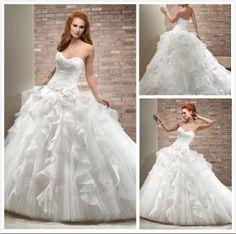 Gorgeous; Wedding dress, Wedding Dresses,