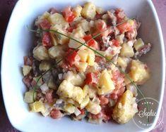Salade de boeuf (Roumanie) Potato Salad, Potatoes, Ethnic Recipes, Food, Salads, Meat, Romanian Recipes, Romania, Greedy People