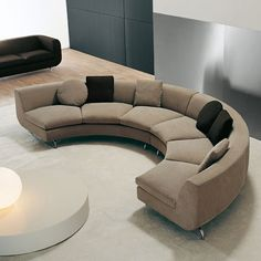 Curved Sectional Sofas Clic Italian Furniture