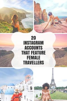 Looking to grow your Instagram? Here are 20 Instagram accounts that feature female travellers! I'm also sharing tips on how to successfully get featured and a list of hashtags you can just copy and paste into your updates :) Don't miss this one if you're a blogger, influencer, traveler or just someone who loves photography!