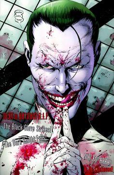 Joker insanguinato