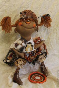 Кыскоф много нибываит!... - примитив,примитивная кукла,примитивы,текстильная кукла