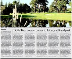 Randpark's new golf course gets thumbs up from The Star