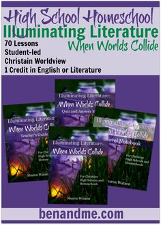 Illuminating Literature -- our choice for homeschool high school literature with a biblical worldview