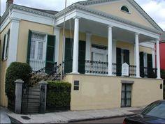 Tour The Beauregard Keyes House & Garden, New Orleans Louisiana