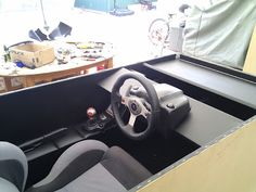 Dorz' Racing Cockpit - Ottoman style! - Overclockers Australia Forums