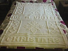 Ravelry: Dreaming Of A White Christmas pattern by Nancy Liggins