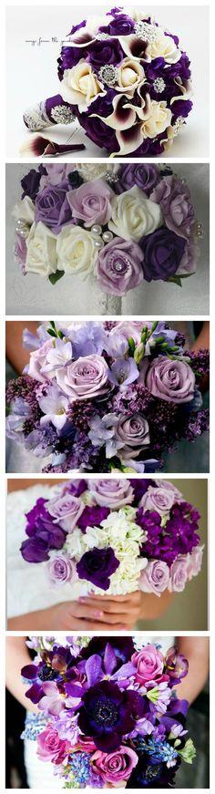 Elegant Purple Wedding Ideals – Wedding Invites Paper
