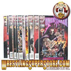 WWE Rare Undertaker Comic Books