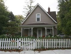 H.H. Holmes' final residence was on the site of this Irvington home at 5811 Julian Avenue, Indpls, IN - America's first known serial killer.  He was convicted of 4 counts of murder in the first degree & 6 counts of attempted murder but was estimated to have killed 200 during 1888 - 1894.