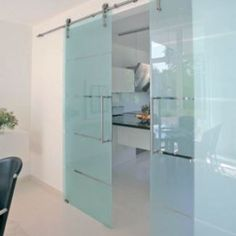 Elegant frameless glass door system creates a minimalist look 120kg system designed for 8mm-12mm toughened glass Rollers engineered to run effortlessly along a brushed stainless steel tubular track Designed for use with glass door to glass wall or glass door to solid wall Stops positioned on the track limit the door travel Max toughened glass …