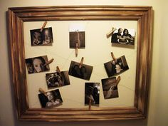 Picture Frame DIY Project, love love A Must Tryyyy