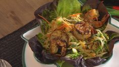 Thailändischer Salat mit Garnelen | Bildquelle: wdr