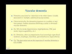 Dementia: CRASH! USMLE Step 2 and 3