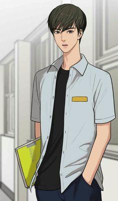 The secret of angel. Suho, Anime Guys, Manga Anime, Anime Art, Cover Wattpad, Anime Korea, Boy Illustration, Webtoon Comics, Handsome Anime