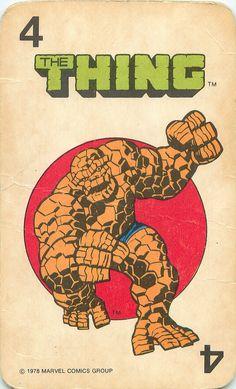 Marvel Comics Superheroes Card Game | por andertoons