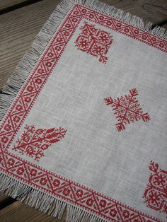 Inspired by Moroccan Embroidery, June 2012 by yarn jungle, via Flickr