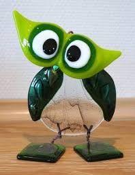 Resultado de imagen para glaskunst fugle