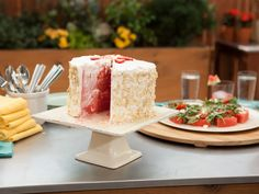 Watermelon Cake Recipe : Food Network - FoodNetwork.com