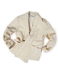 "Kimono-collar jacket, ""Yamato"""