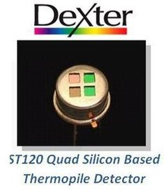 Thermopile Detector for Gas Analysis from Dexter Research Center, Inc.