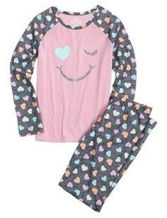 Smiley Face Pajama Set