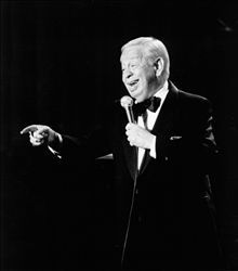 "One of the Great Jazz vocalists, composers and musicians ever - Mel Torme.  Nicknamed ""The Velvet Fog"" for a voice was absolutely smooth and gripping and mesmerizing.  And, I believe his voice just got better and better with age.  Besides, he was a Chicago boy...can't get any better than that."