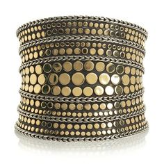 sidney garber  cuffs and bangles | ... Hardy 18-Karat Gold Dot Cuff Specs Pictures Price - The Jewelry Quote