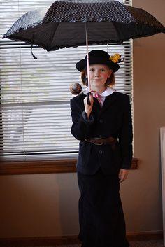 Mary Poppins Costume #Halloween
