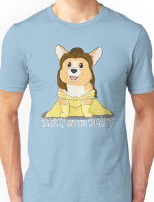 Barky and the Beast Camiseta unisex