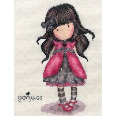 Ladybird Gorjuss Counted Cross Stitch Kit