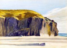 E. Hopper http://bofransson.tumblr.com/post/48035754987/oregon-coast-w-c-on-paper-hopper-edward