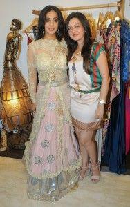 Amy Billimoria with Mahie Gill