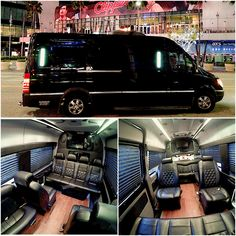 Corporate sporting event Mercedes Sprinter limo transportation in Manhattan Beach CA, call 714.724.3321 or visit www.relentlesslimo.com for more information!