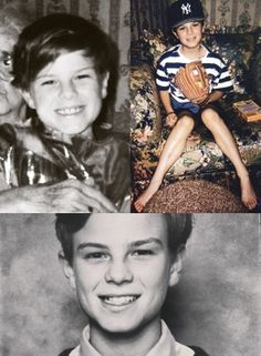 Nathaniel Buzolic as a wee laddie *bless him* ♥