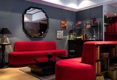 Art-deco style in the hotel Monsieur in Paris / Stile Art-deco per l'hotel Monsieur a Parigi