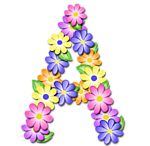"""""""Pastel Floral"""" Free Scrapbook Alphabet in JPG and PNG I will be printing these out and using Modge Podge to paste them to blocks fo. Spring Coloring Pages, Flower Alphabet, Free Digital Scrapbooking, Floral Letters, Printable Letters, Pastel Floral, Alphabet And Numbers, Letter Art, Lettering Design"""