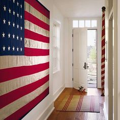 It isn't the Fourth of July without some red, white, and blue around the house. How will you be celebrating this weekend? Design Karin Blake; Photo by David O. Marlow