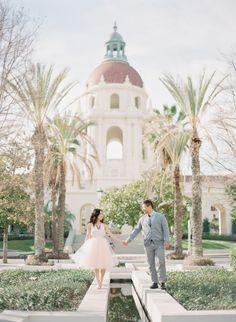 Pasadena City Hall Engagement | Tugether Photography