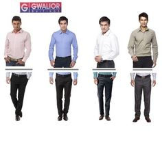 Men\'S Ready To Stitch Formal Wear Pack Of 8 (4 Shirts   4 Pants)
