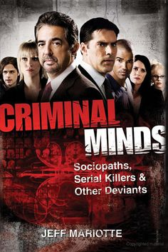 Criminal Minds~ A great show about FBI agents that do behavior analysis that is, they study the crime and come up with details about the suspect.