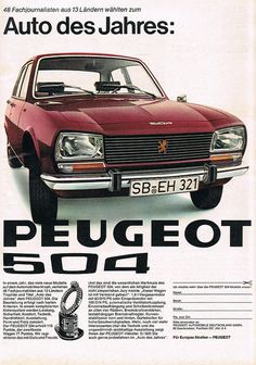 Peugeot 504..ive put this in my bond pins as the car was used in for your eyes only ..