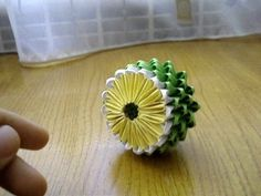 ▶ 3D Origami Lemon Tutorial - YouTube