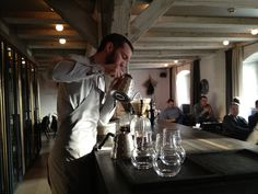 Noma, the world's top-ranked restaurant, is offering diners a new artisanal coffee service developed by world championship barista Tim Wendelboe. Baltic Sea Cruise, Noma Restaurant, Copenhagen Restaurants, Coffee Service, Copenhagen Style, Weather Report, Brewing, Product Launch, People