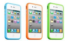 Bumper Cases - Our iPhone bumper cases are designed to fit the iPhone 4, iPhone 4S and iPhone 5. Available in a variety of colours - £1.50