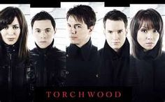"""Torchwood - """"Before we go any further, Who the hell orders pizza under the name of Torchwood?"""" - Capt. Jack Harkness"""