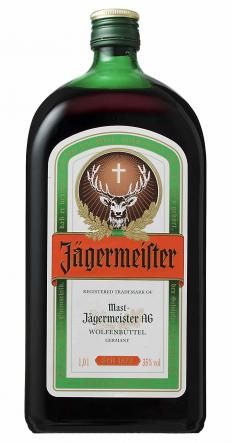 Jagermeister can be served as an apertif.