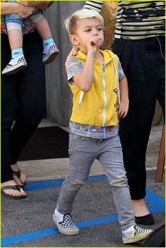 Kingston Rossdale is a baby badass.